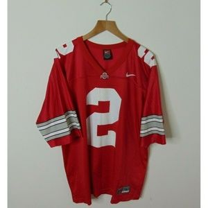 Nike Team L Ohio State Buckeyes Jersey #2 Red